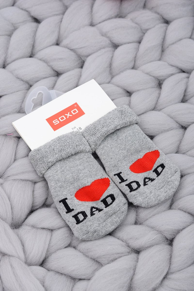 Baby Socks I love Dad Soxo