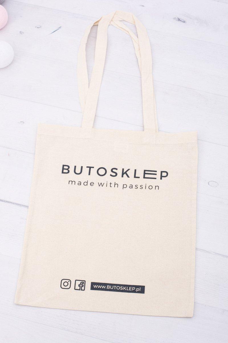 Beige Canvas Bag Butosklep.pl