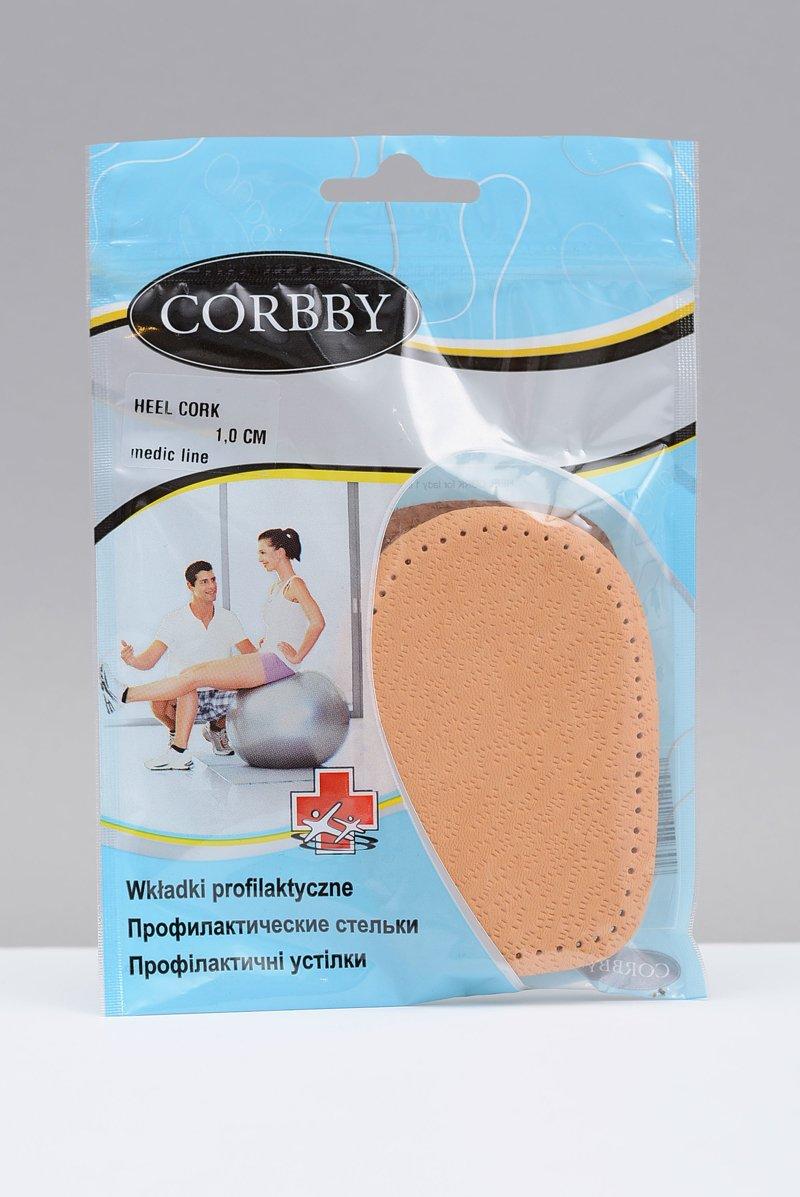 CORBBY Leather Cork Heel