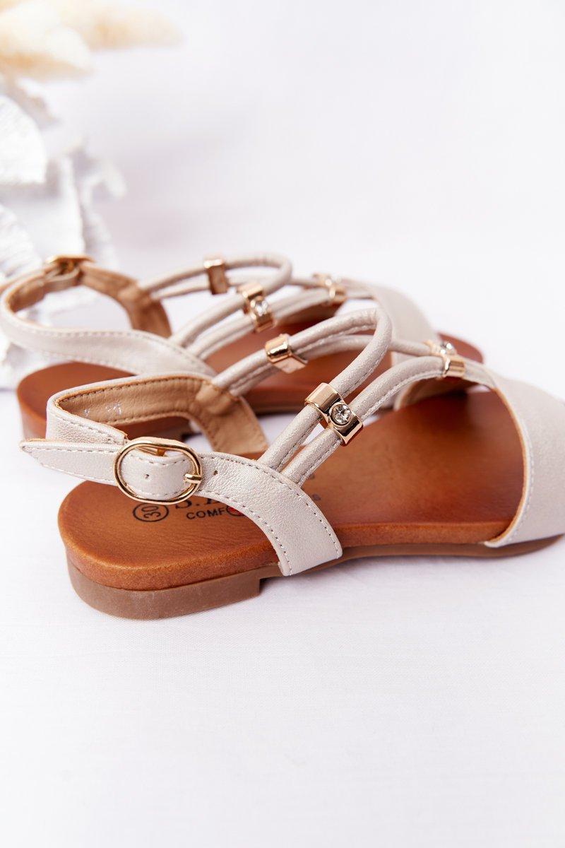 Children's Sandals S.Barski Comfort Beige