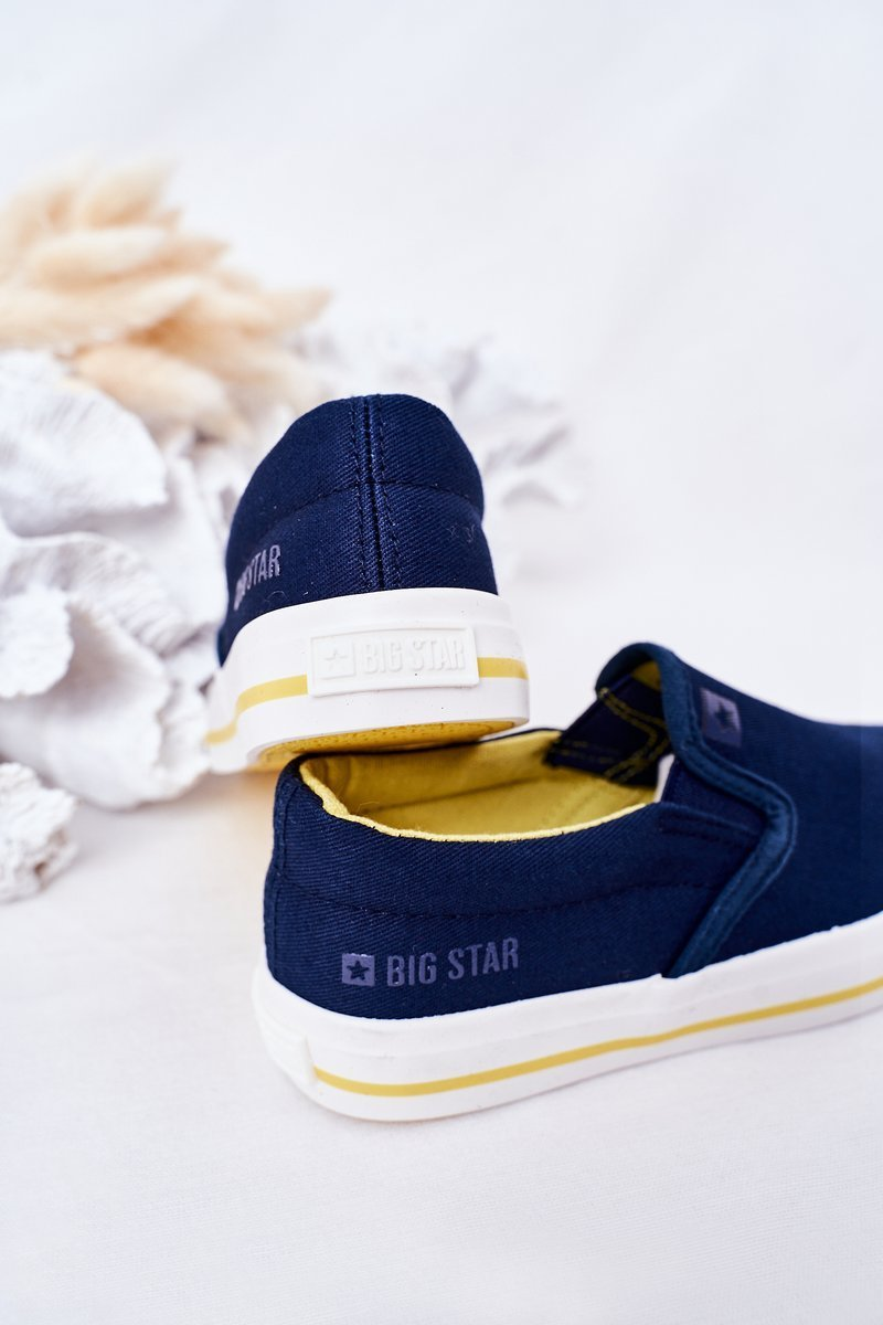 Children's Slip-On Sneakers Big Star HH374011 Navy Blue