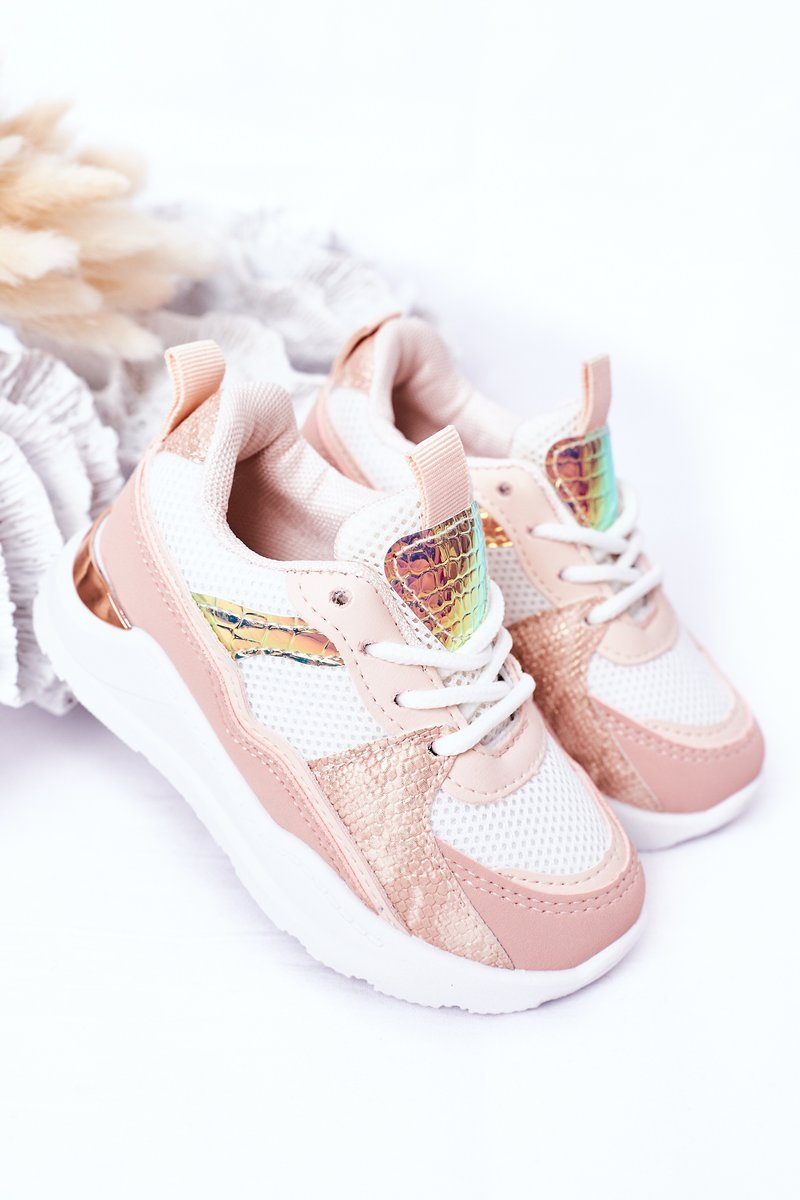 Children's Sport Shoes Sneakers Pink Game Time