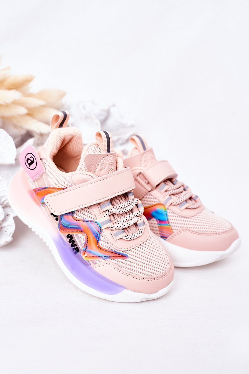 Children's Sport Shoes Sneakers Pink Jump Jump