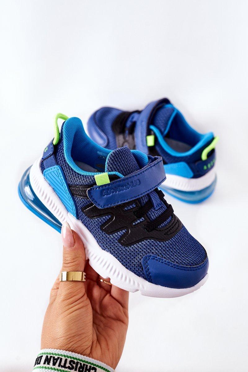 Children's Sport Shoes With Velcro ABCKIDS Blue-Black