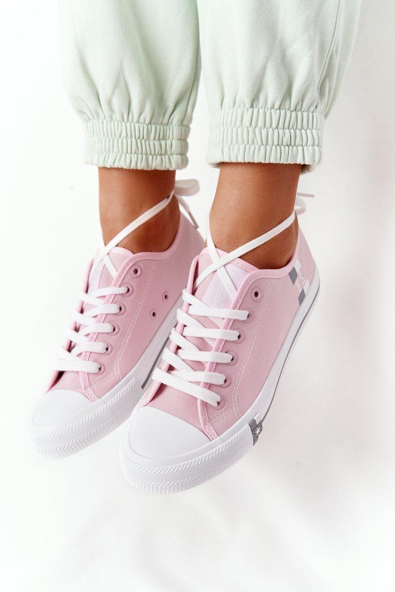 Classic Women's Sneakers BIG STAR HH274110 Light Pink