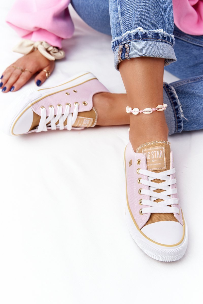 Classic Women's Sneakers BIG STAR HH274455 Pink