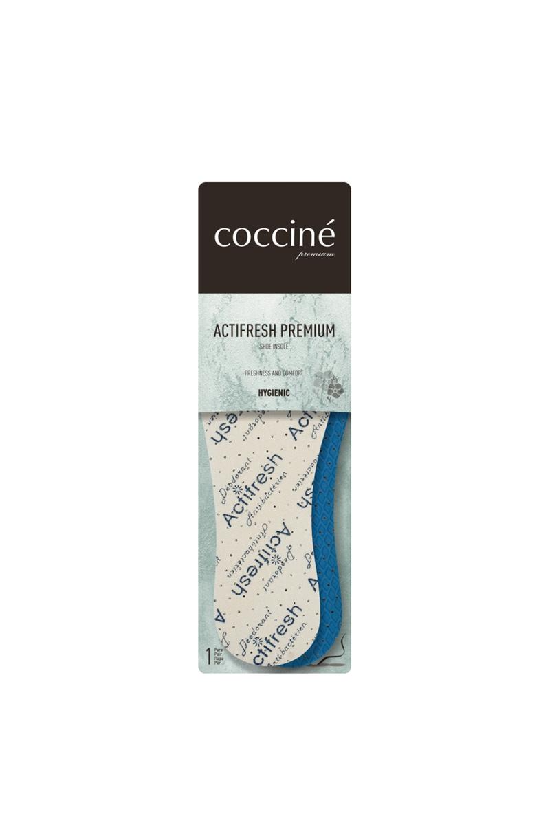 Coccine Antibacterial Mint Insoles Actifresh Premium