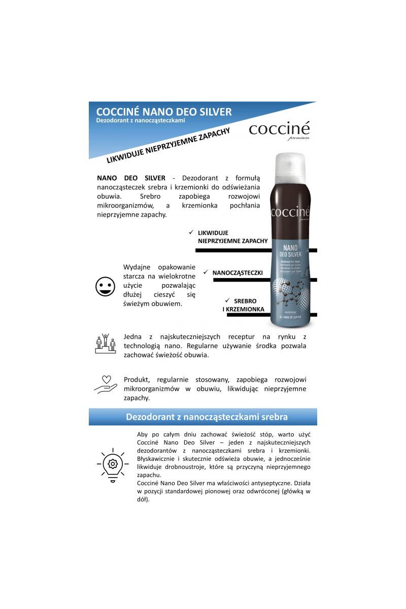 Coccine Nano Deo Silver Shoe Freshener 75ml