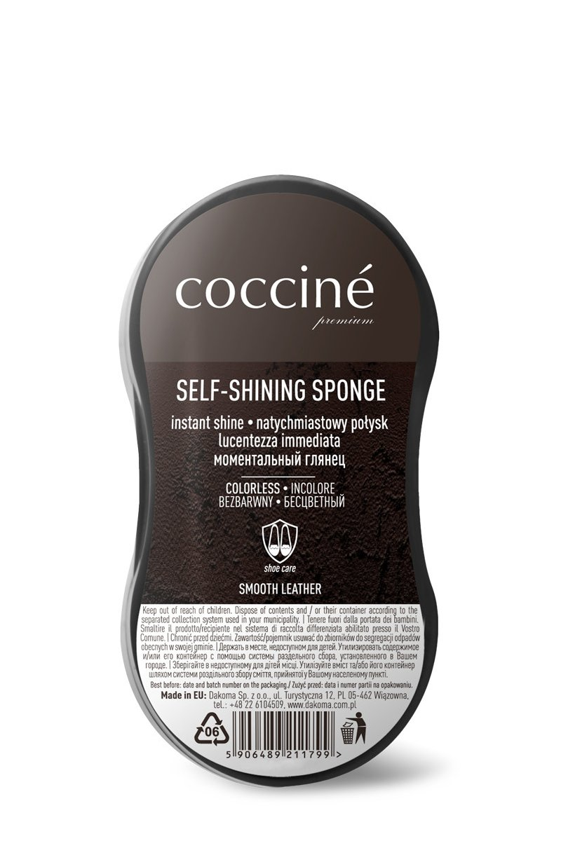 Coccine Shoe Cleaner Shining Sponge Small
