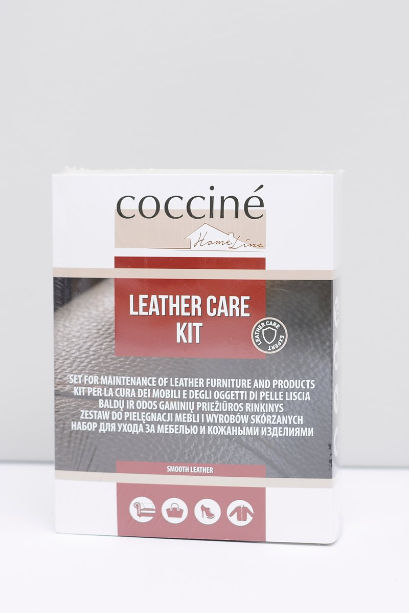 Coccine Zestaw Do Pielęgnacji Mebli i Wyrobów Skórzanych Leather Care Kit