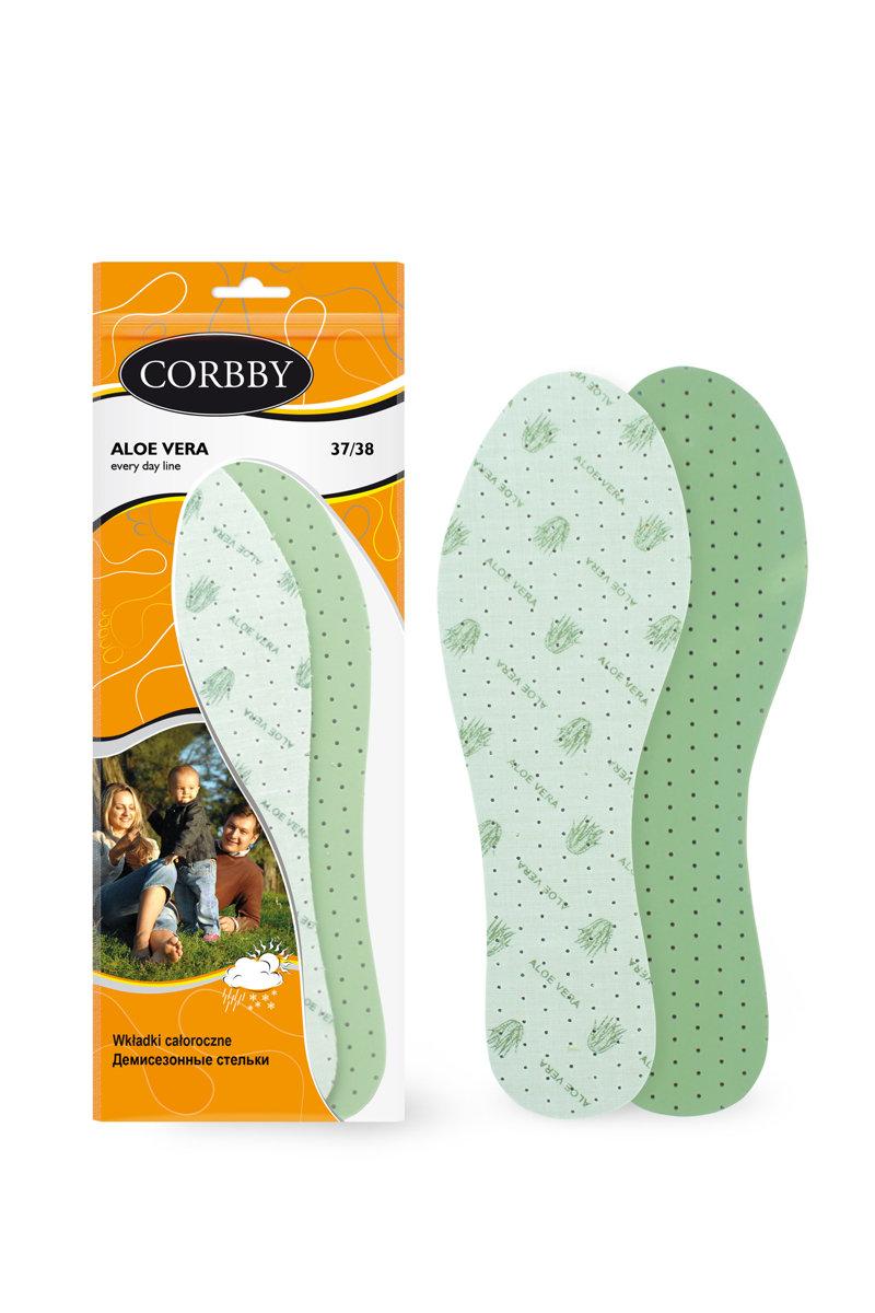 Corbby ALOE VERA wkładki z ekstraktem z aloesu