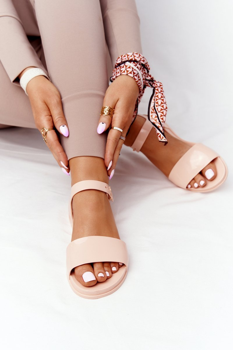 Fragrant Rubber Sandals Eco Friendly ZAXY HH285123 Nude
