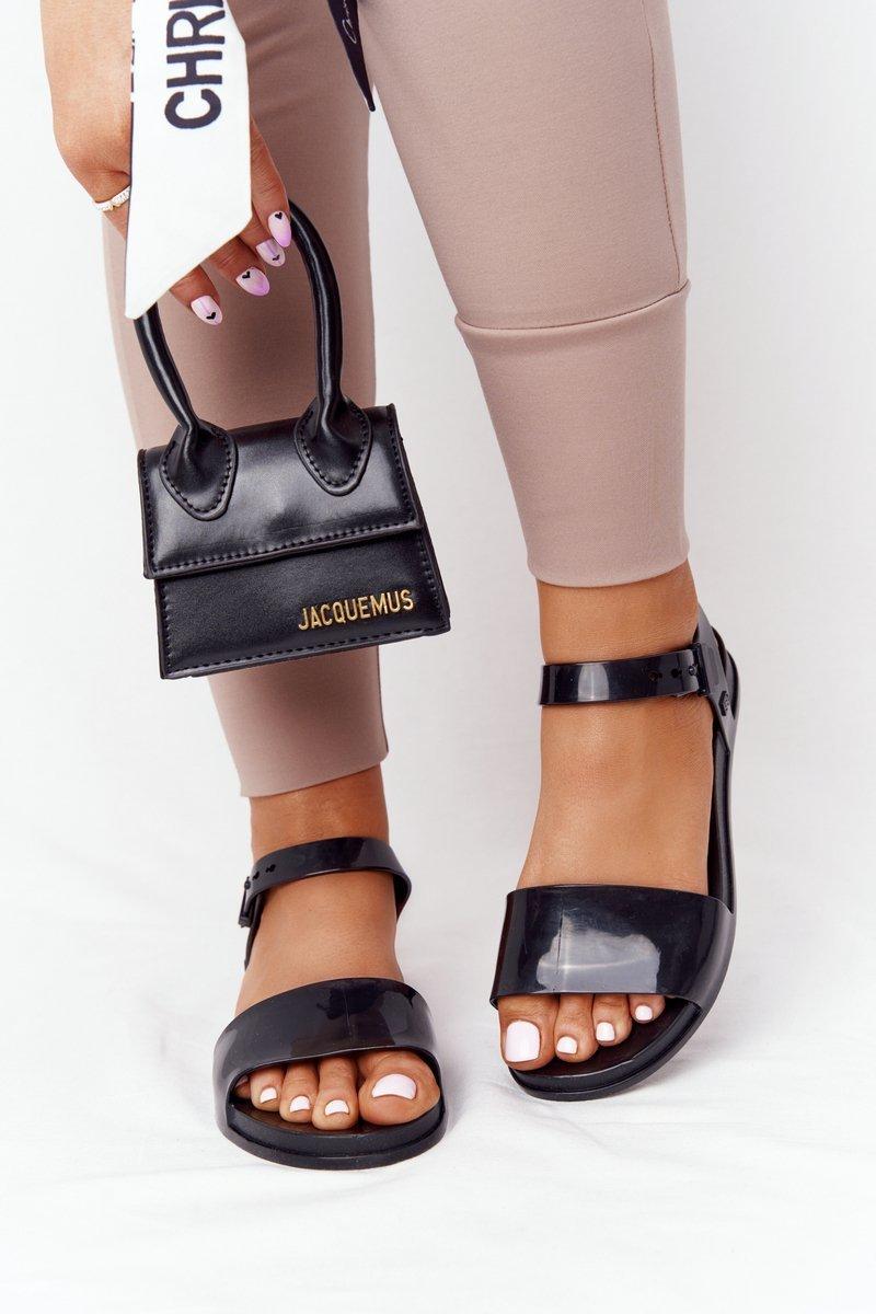 Fragrant Rubber Sandals Eco Friendly ZAXY HH285127 Black