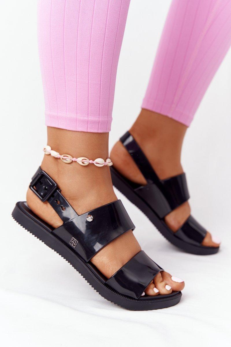 Fragrant Rubber Sandals Eco Friendly ZAXY HH285163 Black