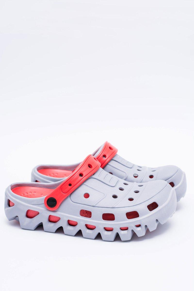 Grey Men Garden Flip-flops Flameshoes