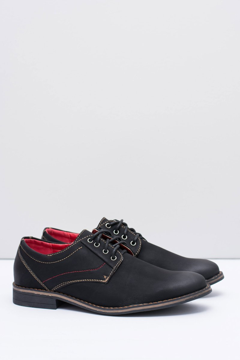 Men's Black Nubuck Kimel Shoes