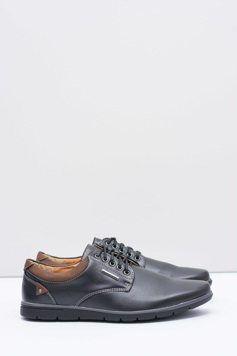 Men's Black Shoes Efrato