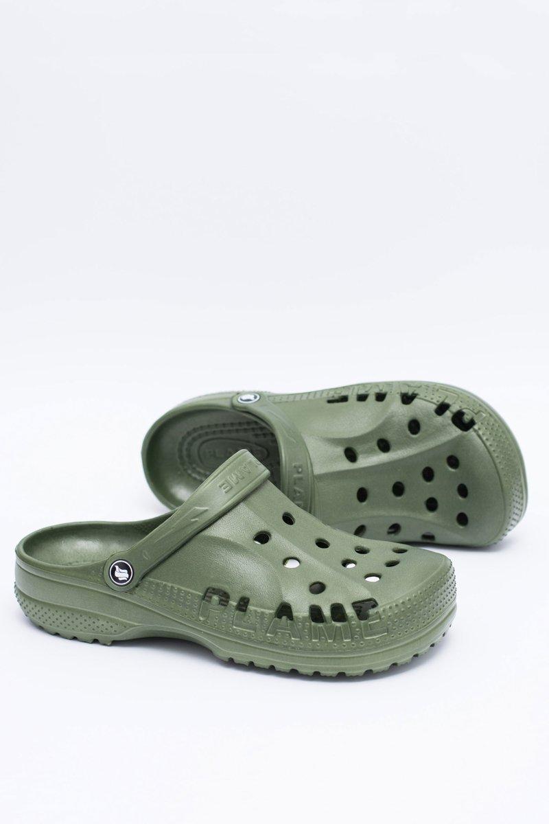 Men's Slides Swimming Pool Crocs EVA Green