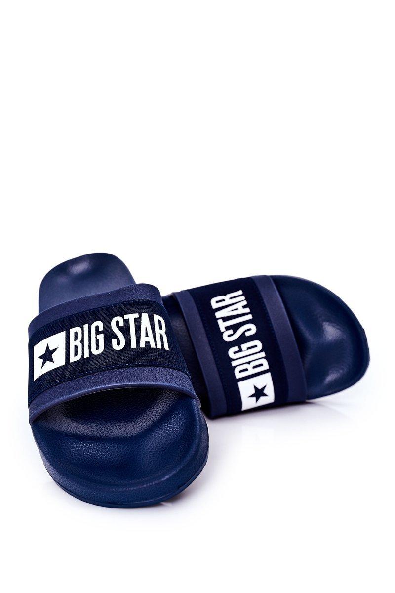 Men's Slippers Big Star HH174833 Navy Blue