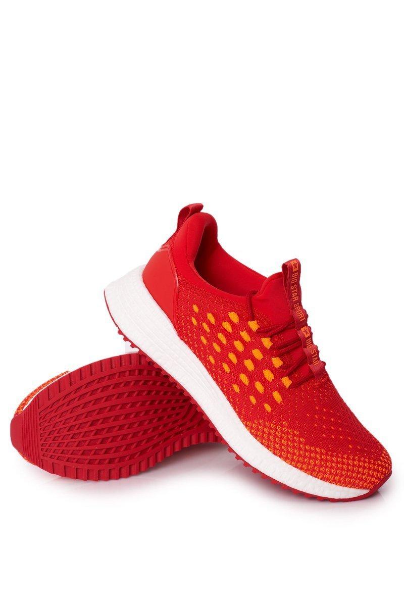 Men's Sport Shoes Big Star Memory Foam FF174240 Red
