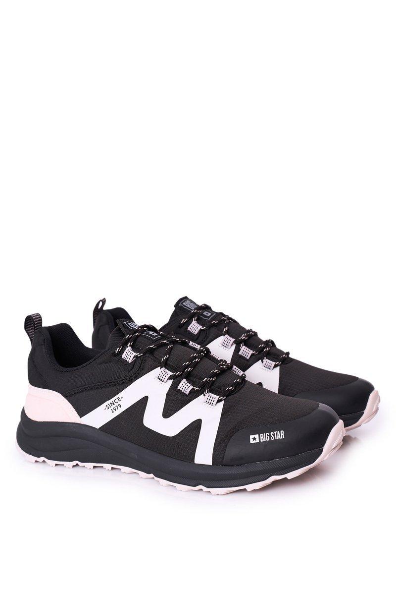 Men's Sport Shoes Memory Foam Big Star HH174088 Black