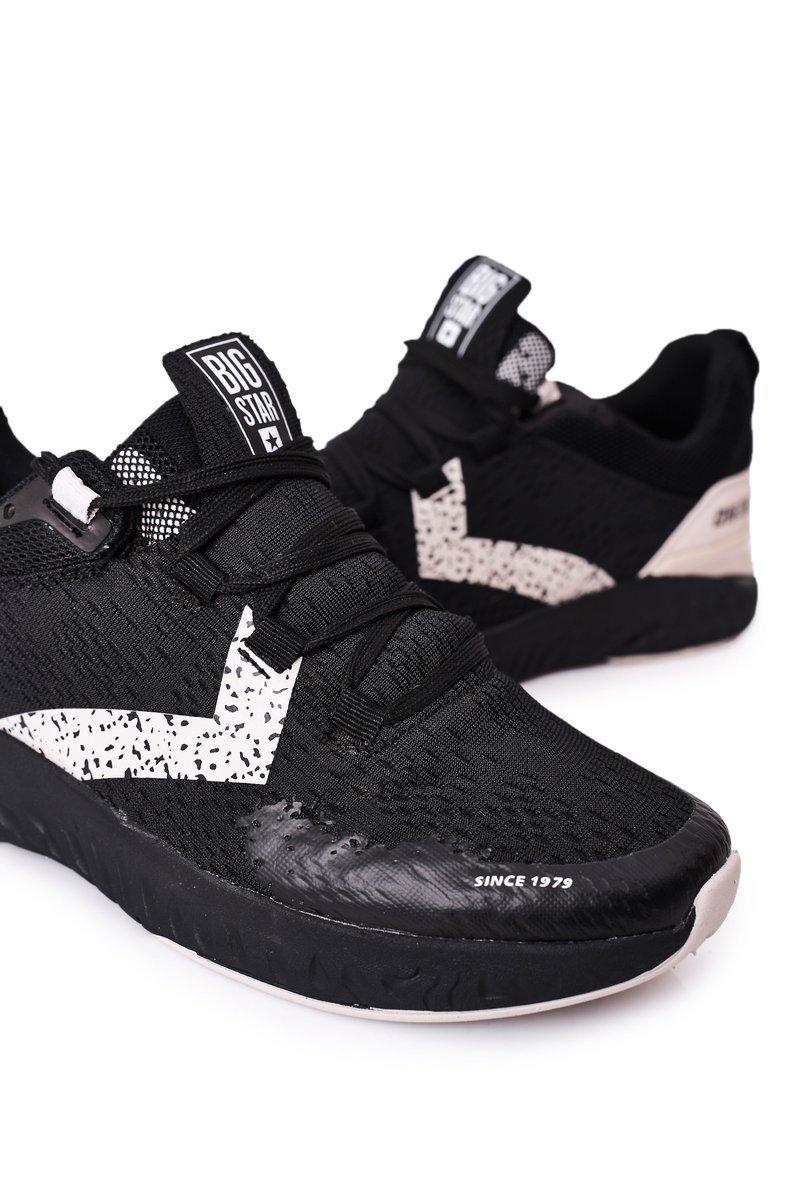 Men's Sport Shoes Memory Foam Big Star HH174236 Black