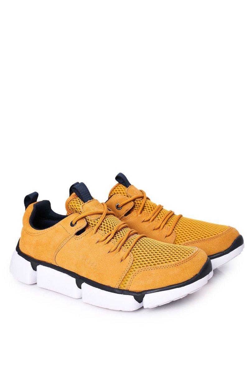 Men's Sports Shoes Sneakers GOE HH1N4029 Yellow