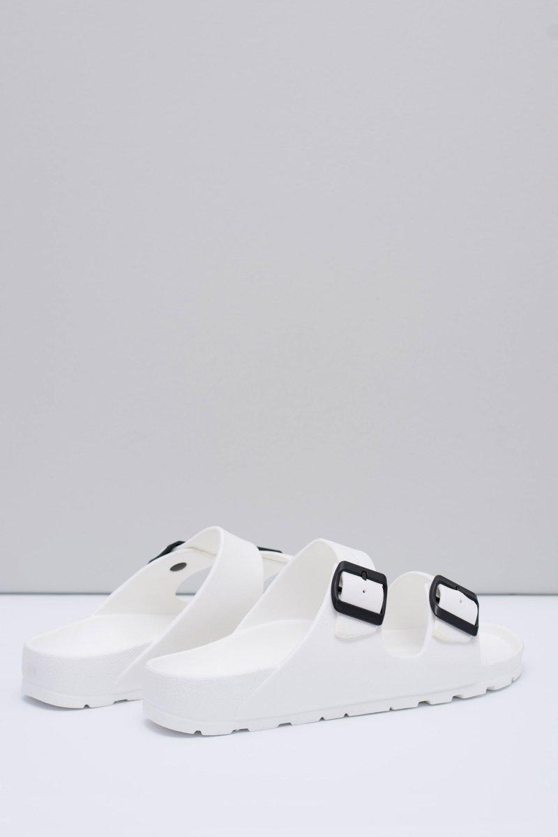 Men's White Garden Light Flip Flops