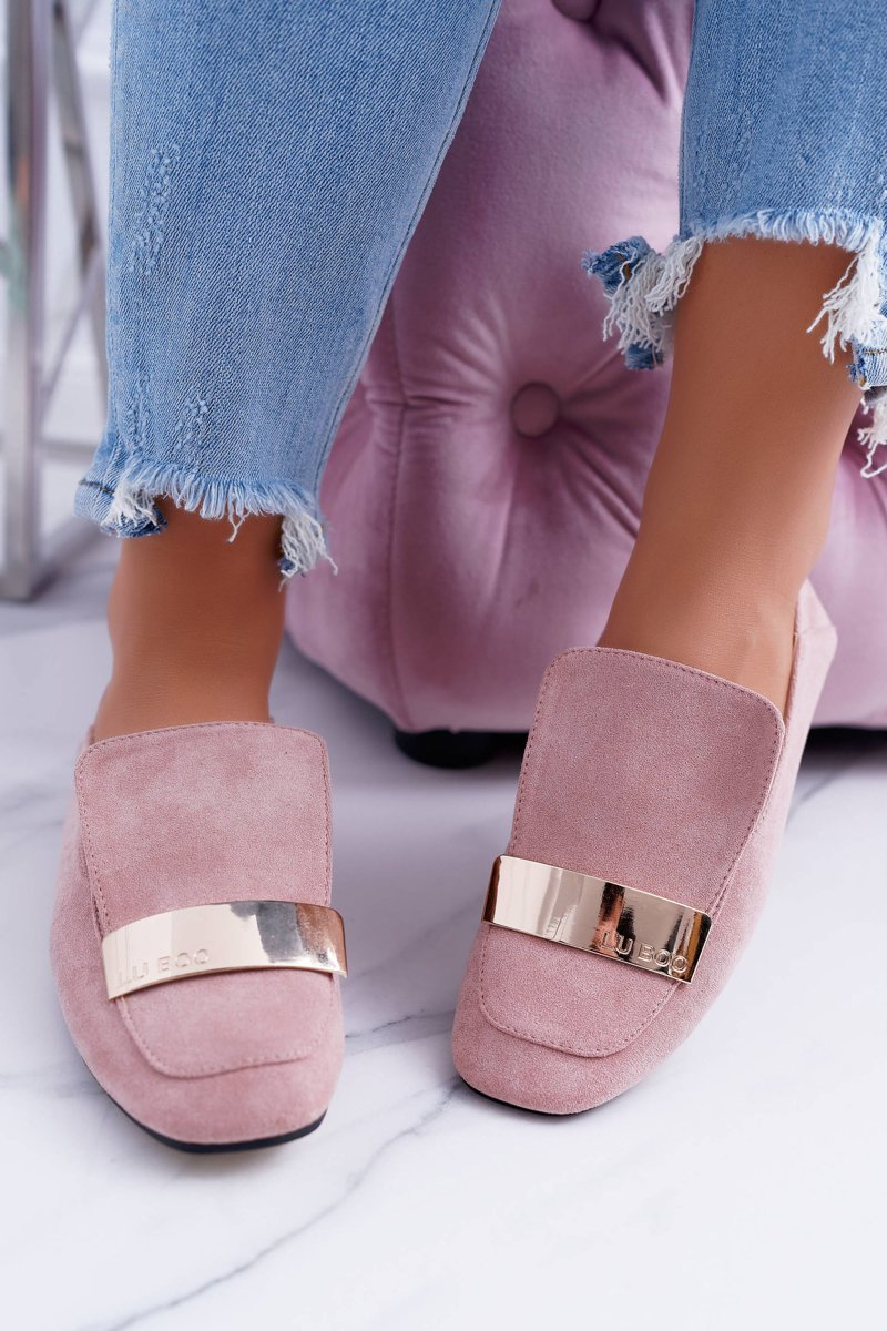 Moccasins Women's Gold Badge Pink Lords Lu Boo Harlem