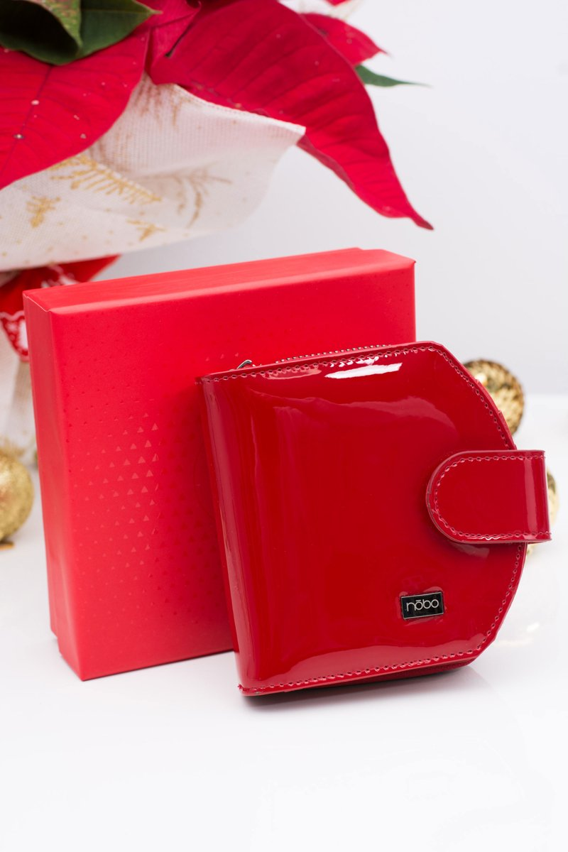 Nobo Red Lacquered Wallet