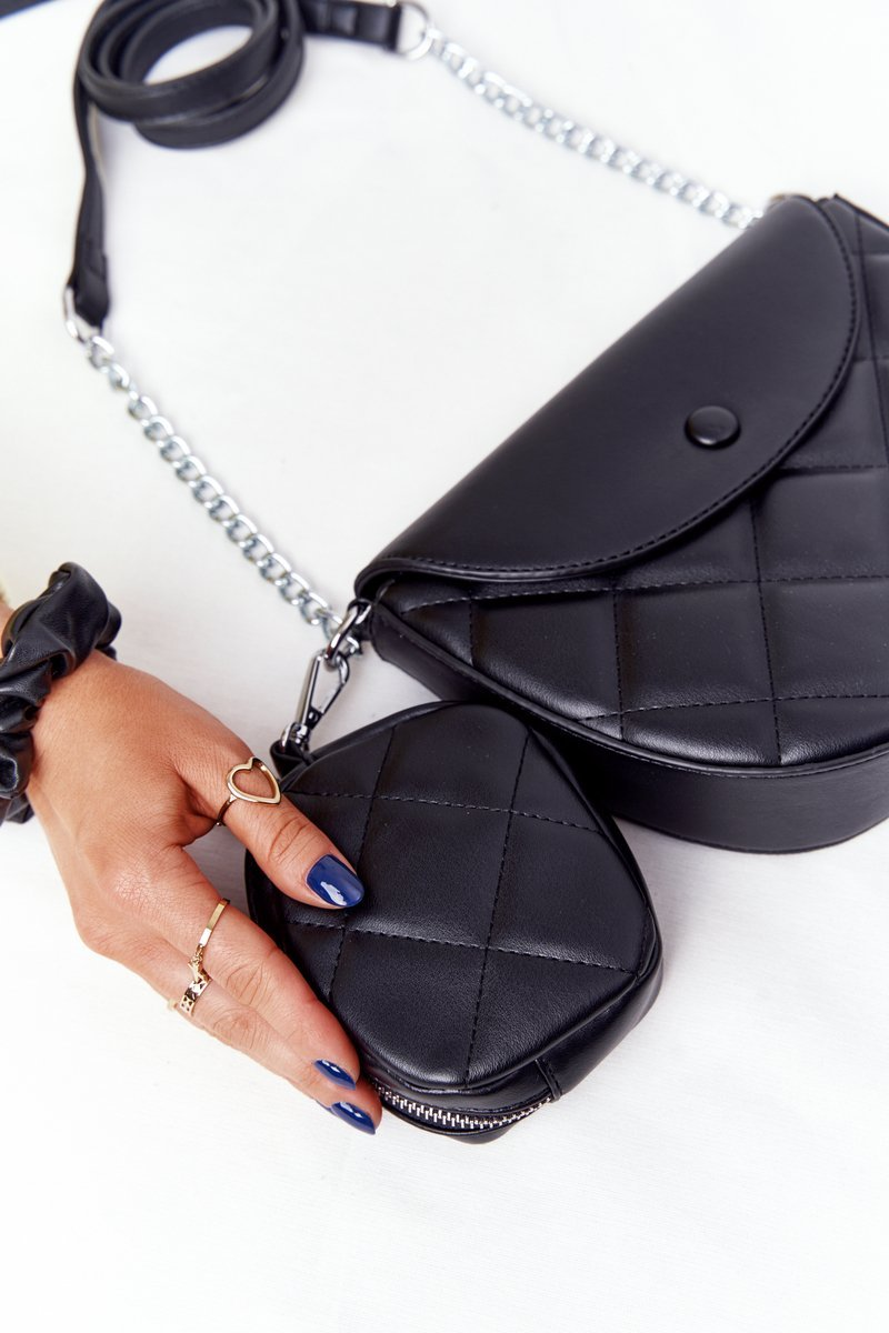 Quilted Purse With A Sachet Berlin Black