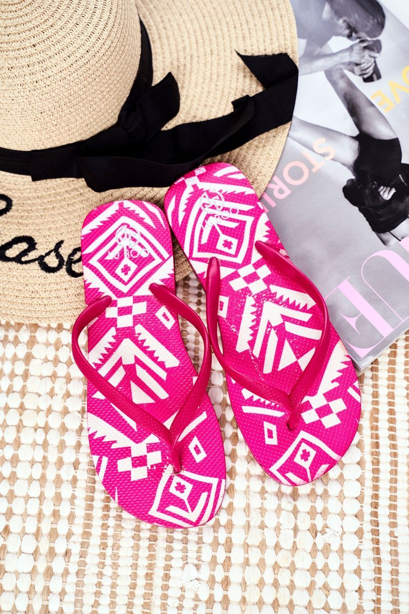 Rubber Flip-flops Lu Boo Pink