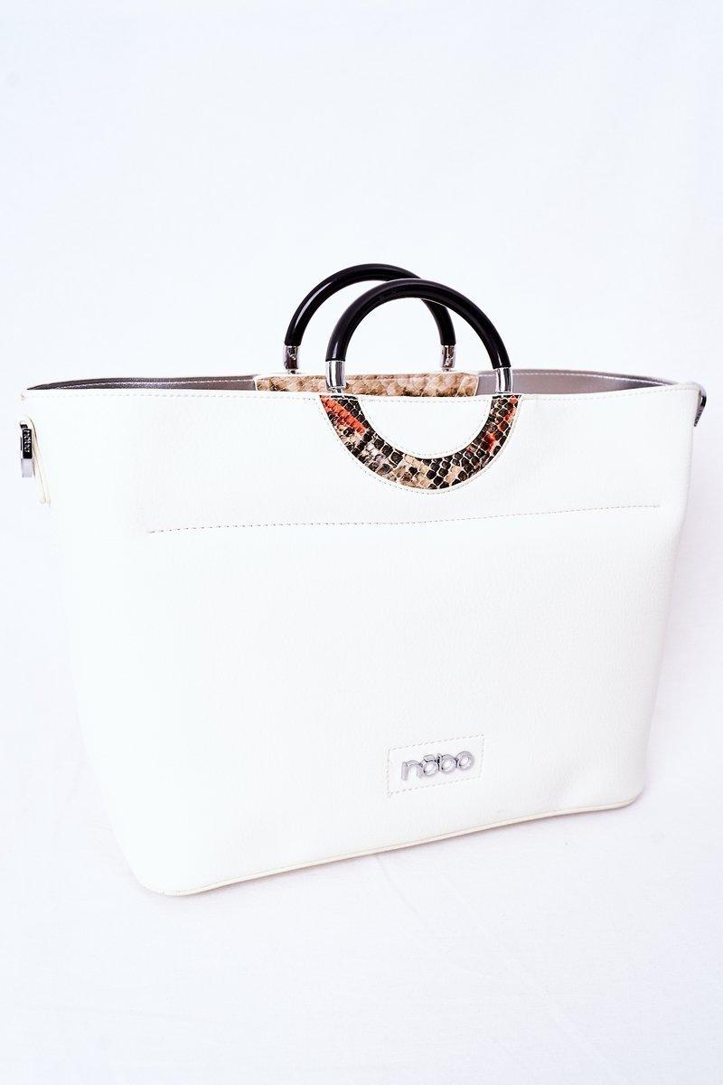 Shopper Handbag NOBO K3520 White
