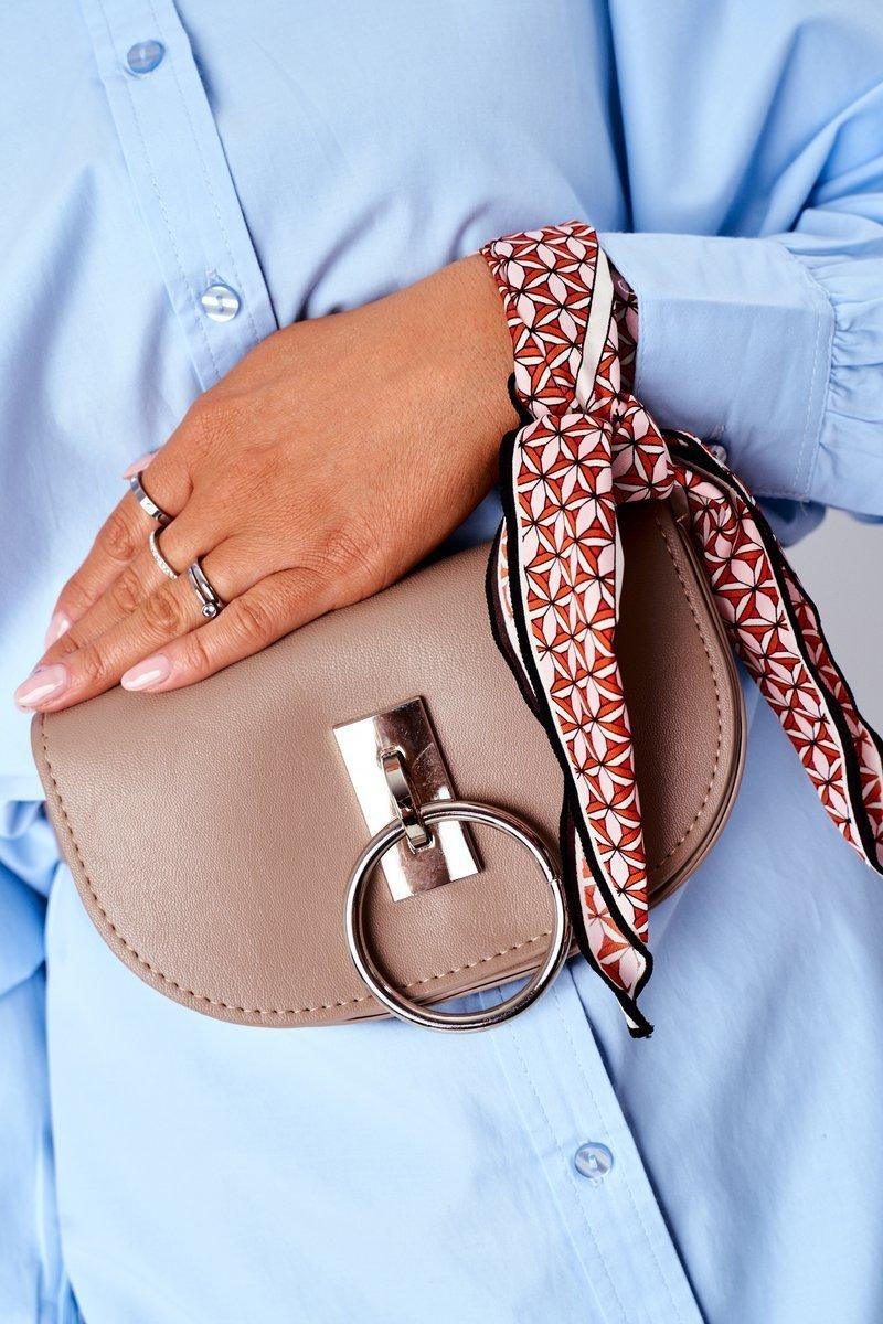 Small Purse Kidney Bag 2in1 Bruno Rossi Beige