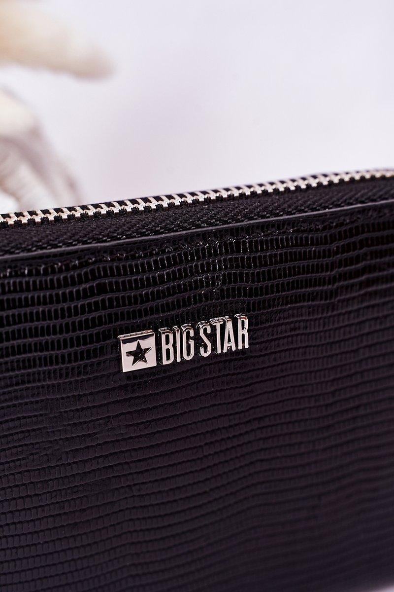 Small Wallet Big Star HH674007 Black