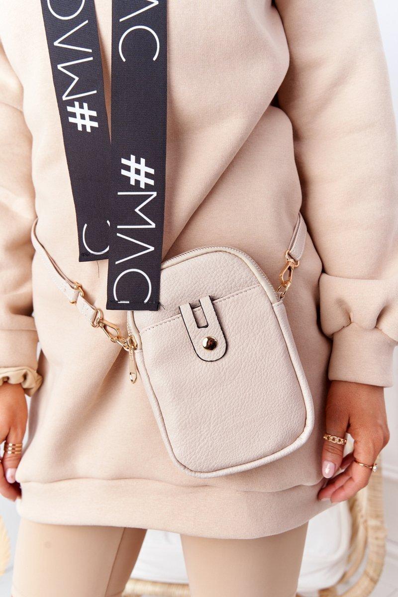 Small Women's Waist Sachet Cross Bag Amsterdam Beige