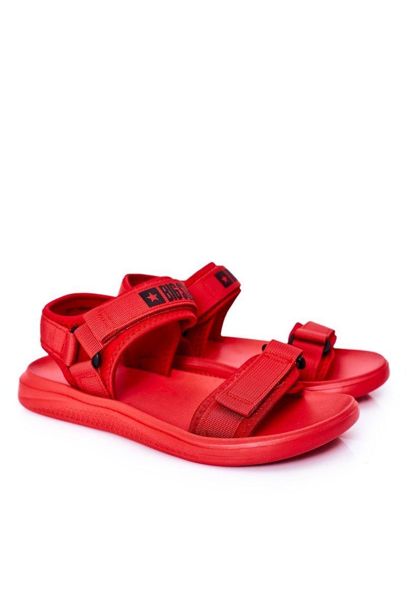 Sport Men's Sandals Big Star HH174844 Red