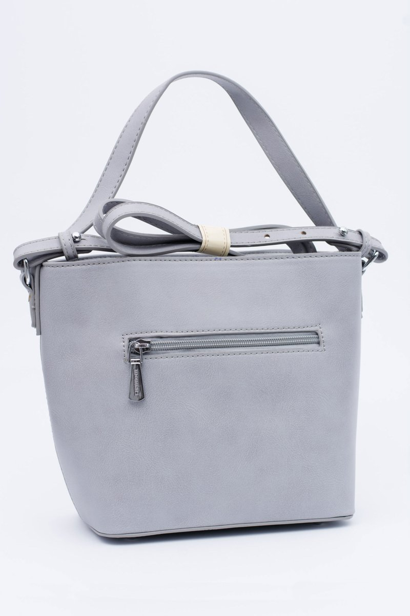 Women Grey Silver Monnari Bag