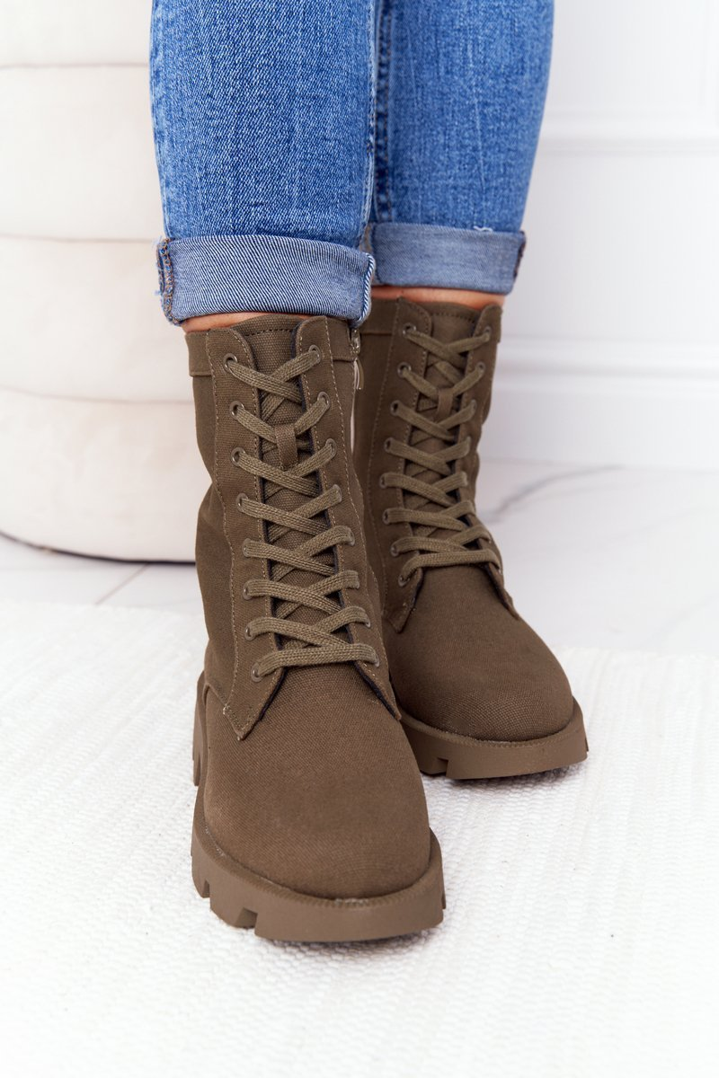 Women's Boots Army Green Haley
