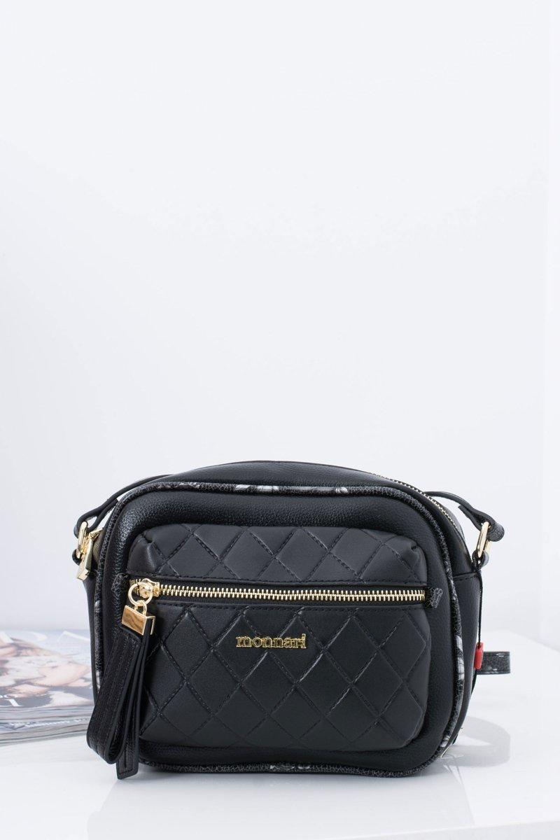 Women's Handbag Quilted Black Bag