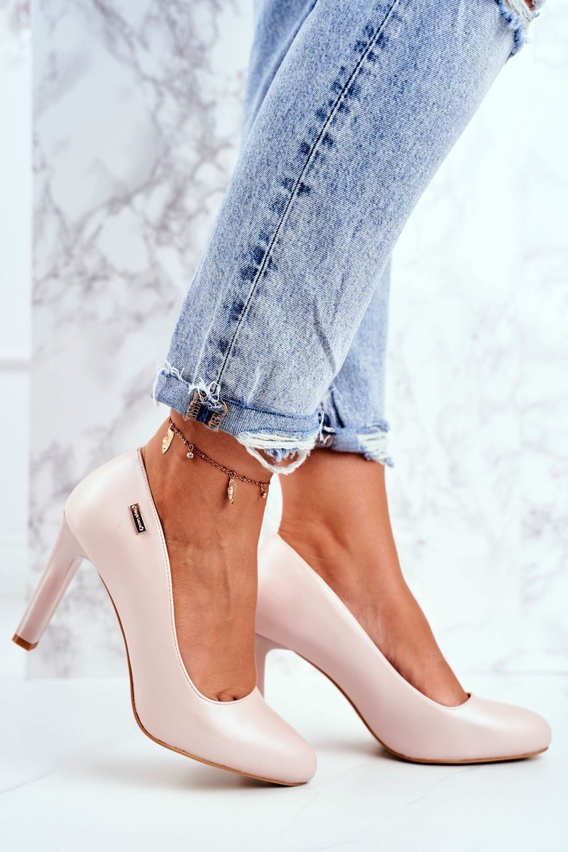 Women's Pumps Pearl Pink Sergio Leone Campbell