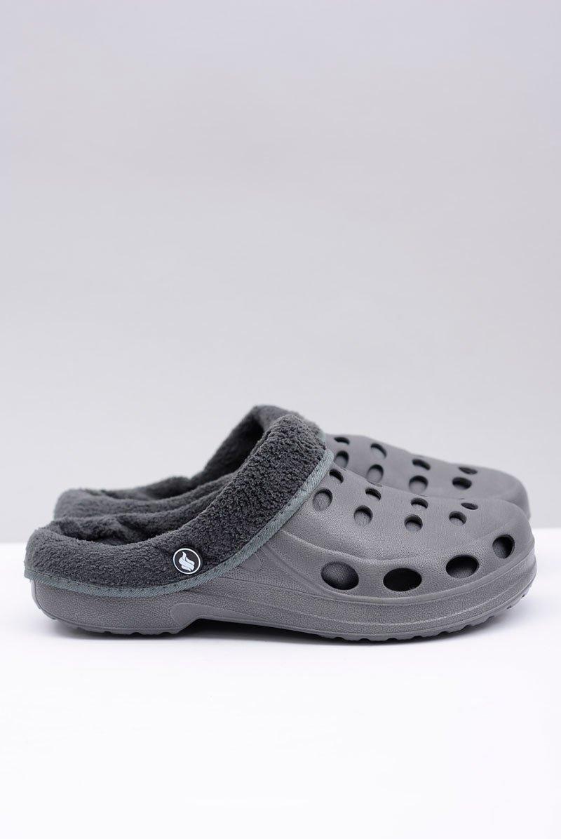 Women's Slides Warm Grey Crocs Eva
