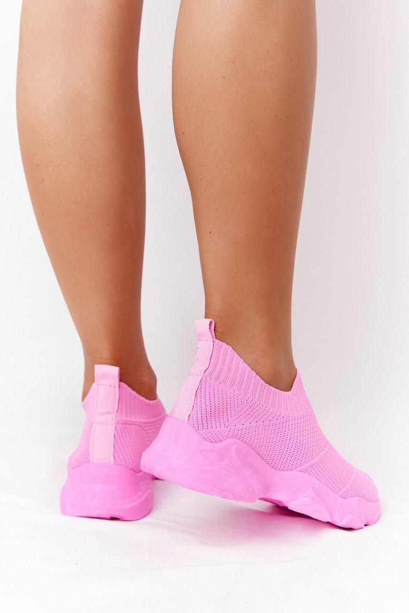 Women's Slip-on Sneakers Fuchsia Yoga Class