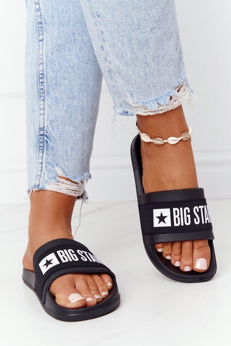 Women's Slippers Big Star HH274A013 Black
