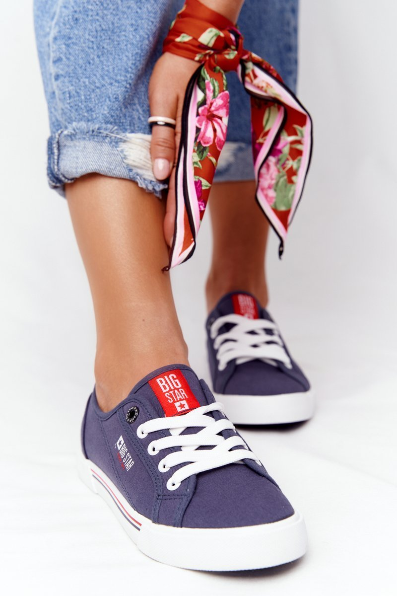 Women's Sneakers BIG STAR HH274063 Navy Blue