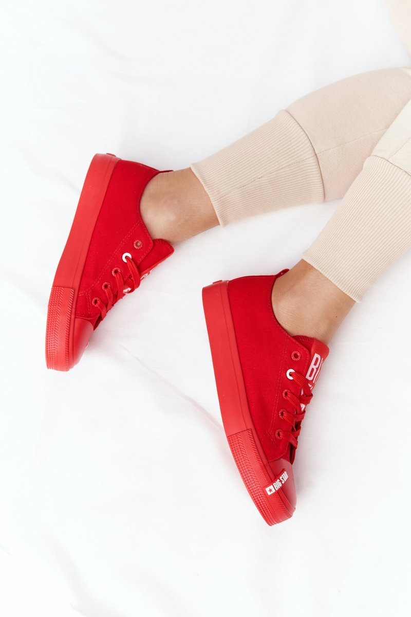 Women's Sneakers BIG STAR HH274677 Red