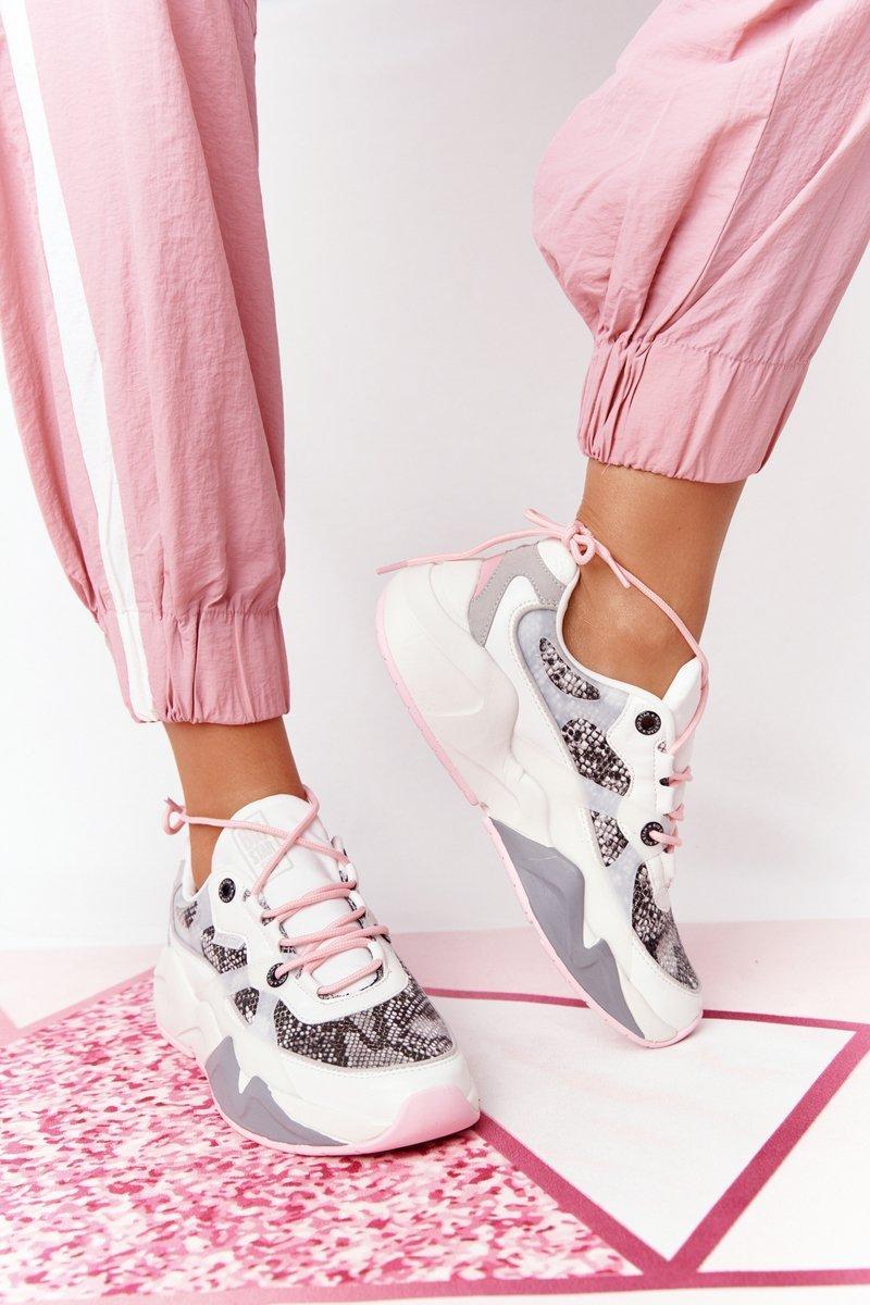 Women's Sneakers Memory Foam Big Star HH274326 White