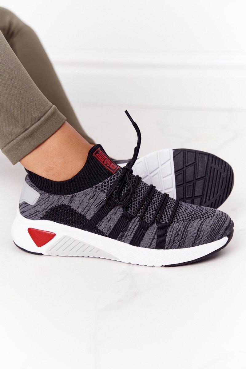 Women's Sneakers Memory Foam Big Star HH274532 Dark Grey