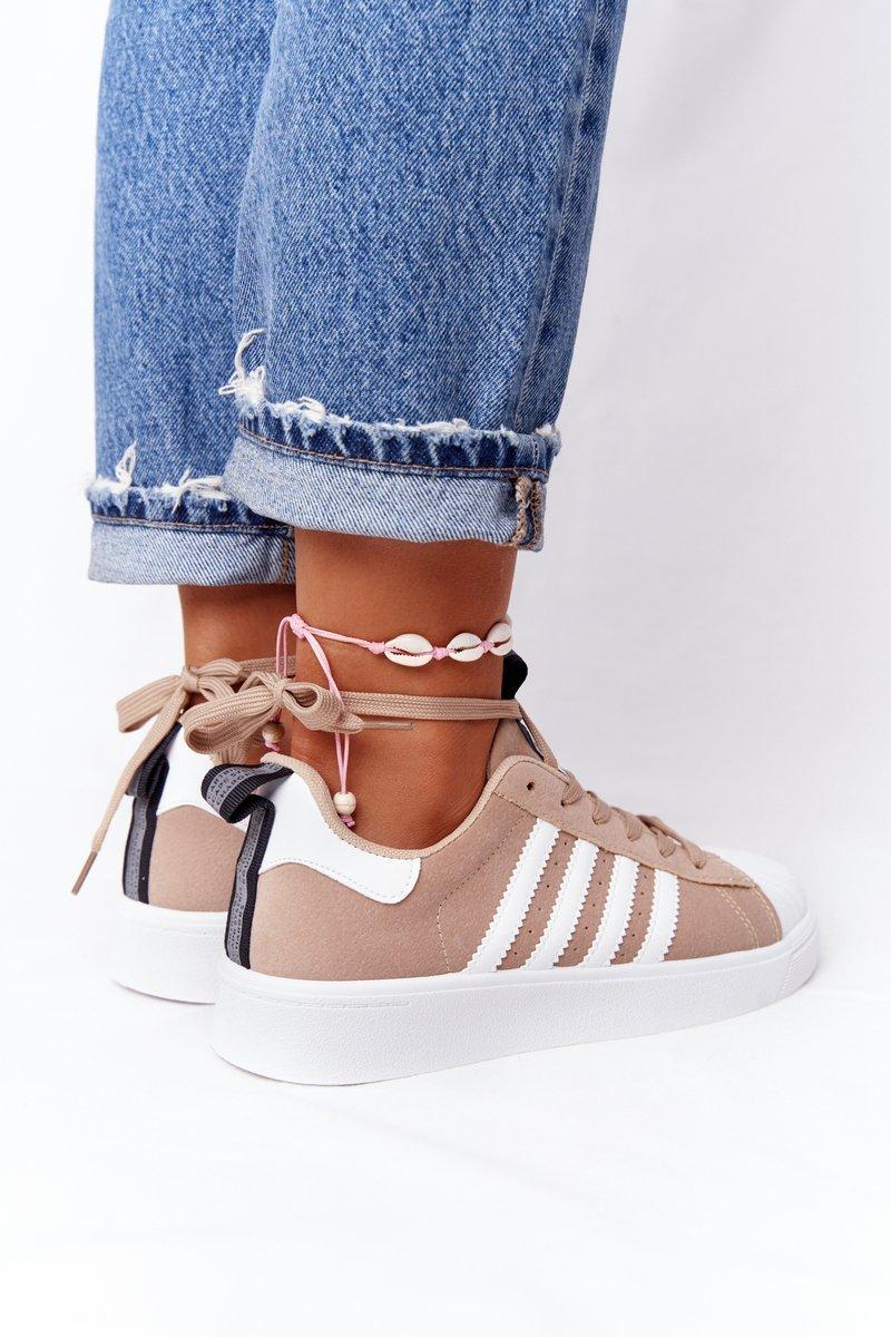 Women's Sneakers White-Beige Los Angeles
