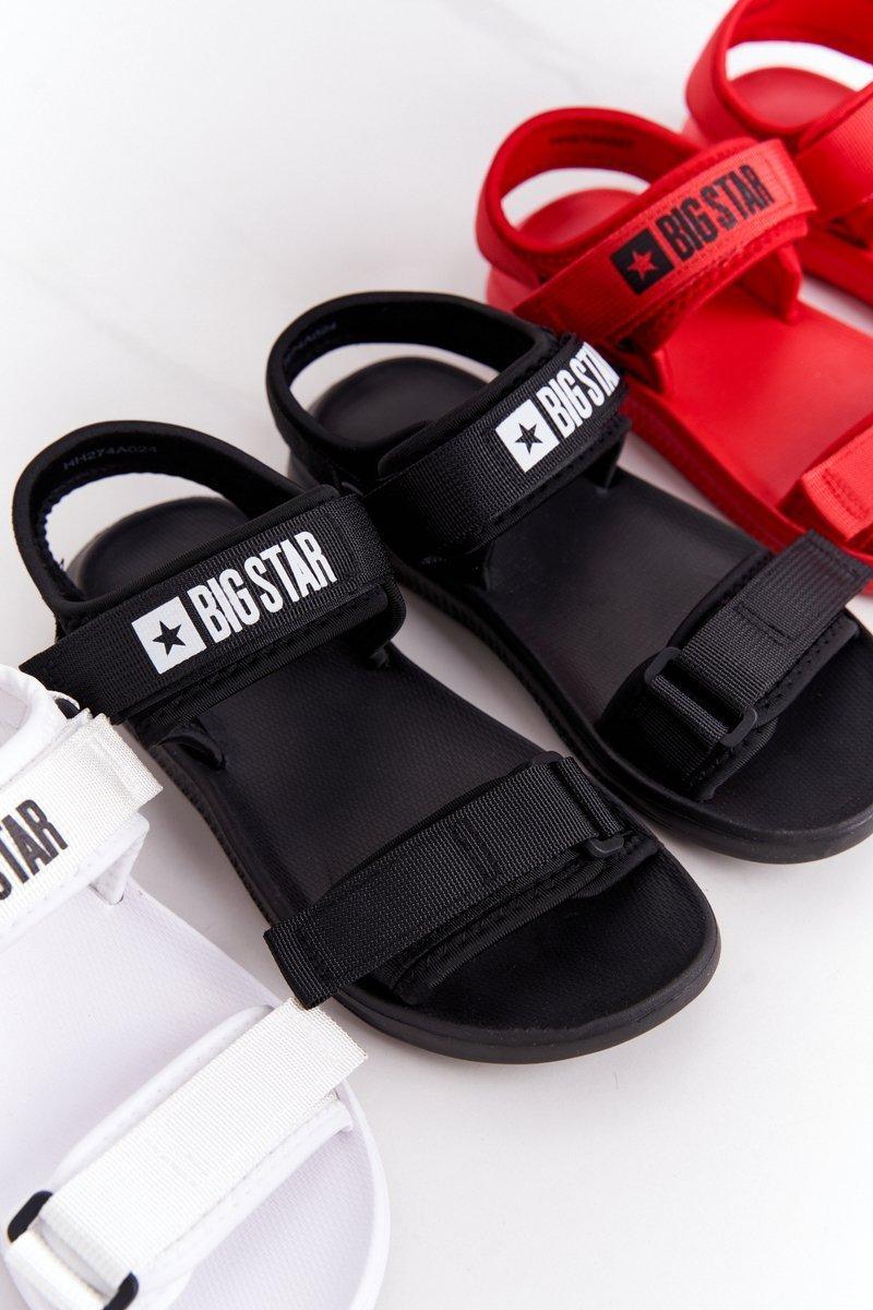 Women's Sport Sandals Big Star HH274A024 Black